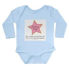 Cute Celebrate Long Sleeve Infant Bodysuit