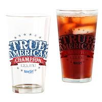 True American Drinking Glass
