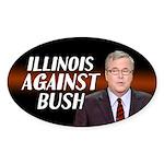 Illinois Against Bush Sticker