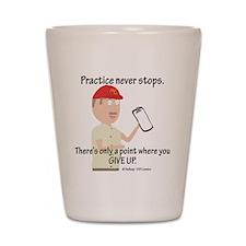 Coach Fit Practice Shot Glass