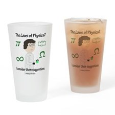 Josef Physics - Hallway 100 Comics Drinking Glass