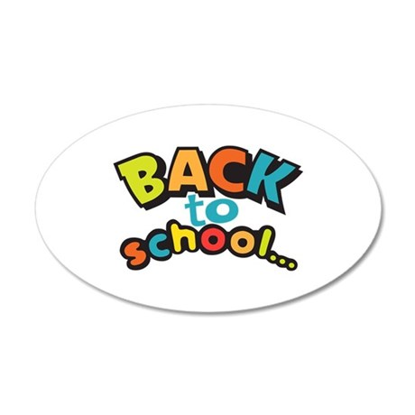 BACK TO SCHOOL Wall Decal