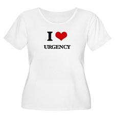 I love Urgency Plus Size T-Shirt