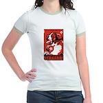 Obey the Saint Bernard! Jr. Ringer T-Shirt