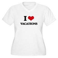 I love Vacations Plus Size T-Shirt