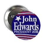 John Edwards President 2008 Button