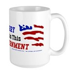 I Voted For Kerry- And All I got--  Large Mug