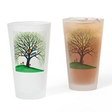 Shasta Owls in Tree Drinking Glass