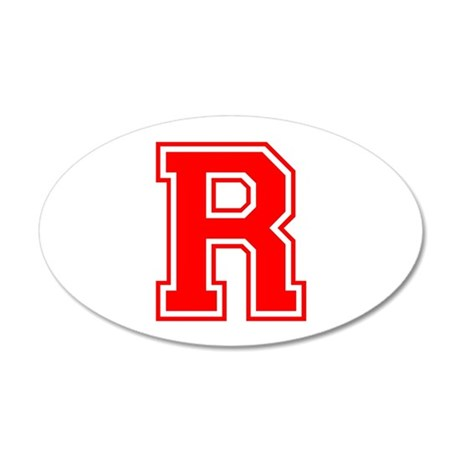 R-var red Wall Decal
