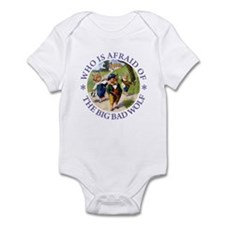 Who Is Afraid Of The Big Bad Wolf Infant Bodysuit