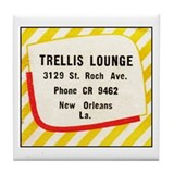 Trellis Lounge Tile Coaster