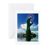 """Monument Touching Star"" Greeting Cards (Pk of 10)"