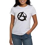 Anarchy-Blk-Whte Women's T-Shirt