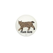 Pixie-Bob (color) Mini Button (10 pack)