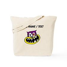 Custom Crazy Cat Tote Bag