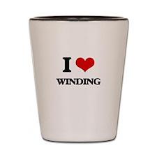 I love Winding Shot Glass