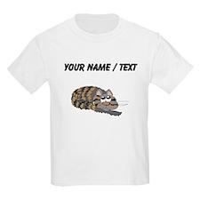 Custom Cat Curled Up T-Shirt