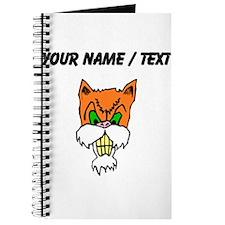 Custom Angry Cat Journal