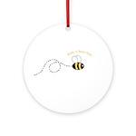 2nd Bee Loop Ornament (Round)