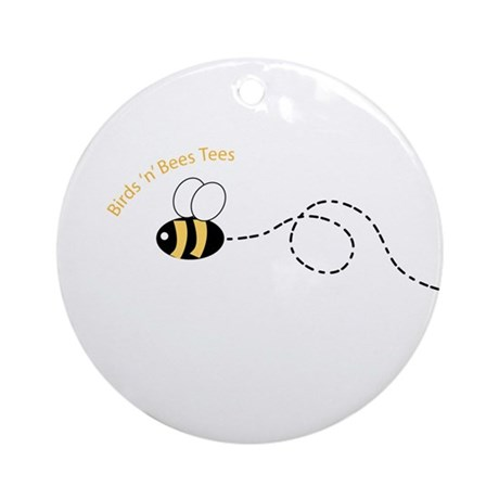 1st Bee Loop Ornament (Round)