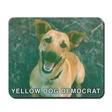 Yellow Dog Democrat Mousepad