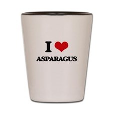 asparagus Shot Glass