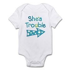 Funny Twin Infant Bodysuit