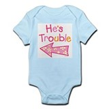 Cool Twin girls Onesie