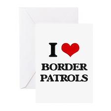border patrols Greeting Cards