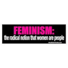 Feminism Bumper Bumper Sticker