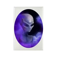Alien Star - Rectangle Magnet (100 pack)