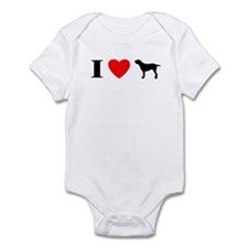 I Love Spinone Italiano Baby Bodysuit