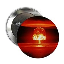 "Mushroom Cloud 2.25"" Button (10 pack)"