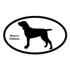 Bracco Italiano Silhouette Decal