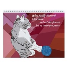 Furry Love Beasts Wall Calendar