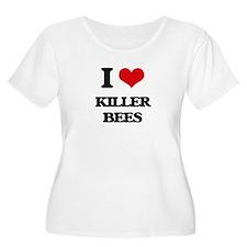 killer bees Plus Size T-Shirt