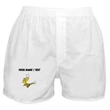 Custom Angry Bee Boxer Shorts
