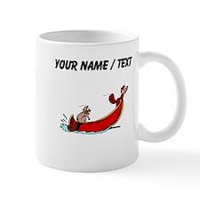 Custom Beavers In Boat Mugs