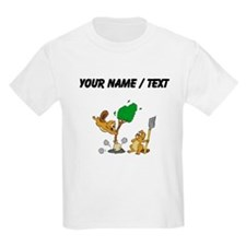 Custom Beavers Planting Tree T-Shirt