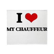 my chauffeur Throw Blanket