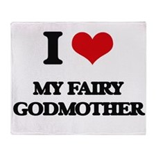my fairy godmother Throw Blanket