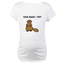 Custom Brown Beaver Shirt