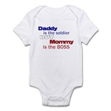 Military brat Infant Bodysuit
