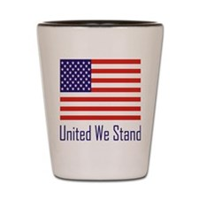 United Flag Shot Glass