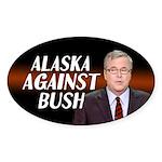 Alaska Against Bush Bumper Sticker