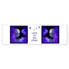 Alien Star - Bumper Bumper Sticker