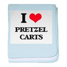 pretzel carts baby blanket