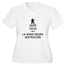 Keep Calm I'm a La Mano Negra Instructor Plus Size