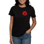 Anarchy-Red Women's Dark T-Shirt