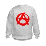 Anarchy-Red Kids Sweatshirt